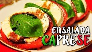 Ensalada Caprese - Receta de Cocina fácil y económica