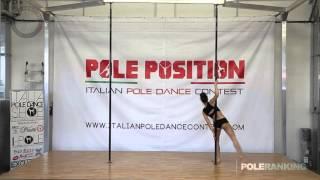 Gaia Santoro - Italian Pole Dance Contest 2016