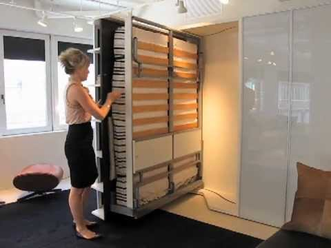 resource furniture: italian-designed space saving furniture - youtube