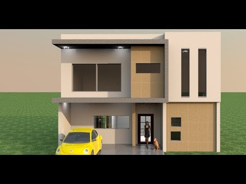 30x30 Small House Making In Sweet Home