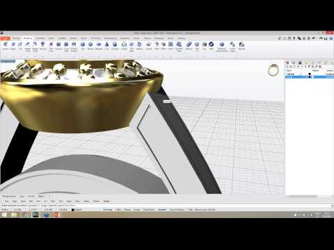 Hello, Halo - Creating a Halo ring from scratch in RhinoGold