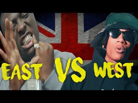 UK DRILL : EAST LONDON VS WEST LONDON