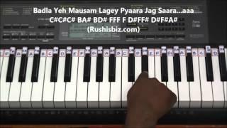 Chookar Mere Mann Ko Piano Tutorials (Yaarana)
