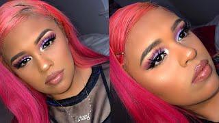 Super Nova Purple Makeup tutorial