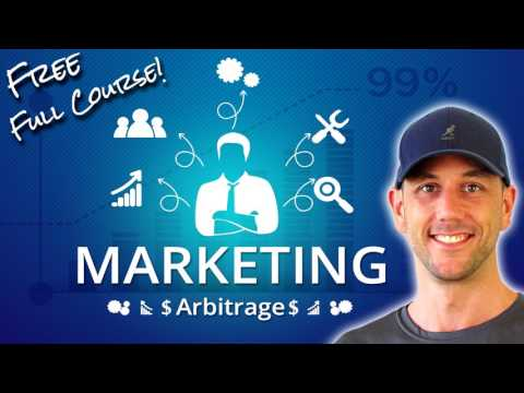 How To Make Money Selling Wordpress & Marketing Services - My Full Marketing Arbitrage Course, Free!