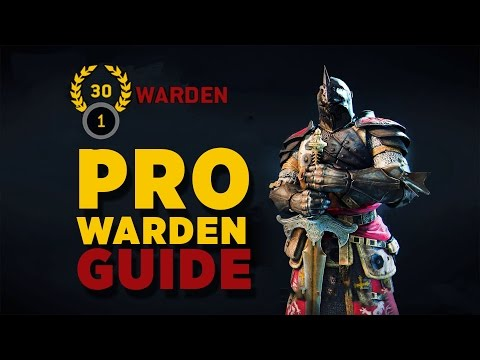 For Honor- High Level Warden Advanced Combo Guide -Feints, Sidestepping, Ground Game-