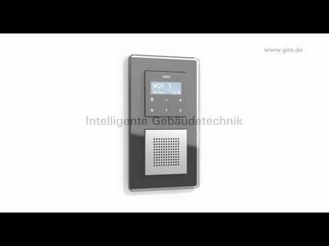 Gira Inbouwradio Badkamer : Gira radio in de wand youtube