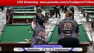 CQ Cue Sports City v Country 8 Ball Gladstone v Capricornia