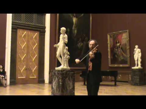 Борис Кипнис, известный солист из Санкт-Петербурга; Boris Kipnis, the violonist