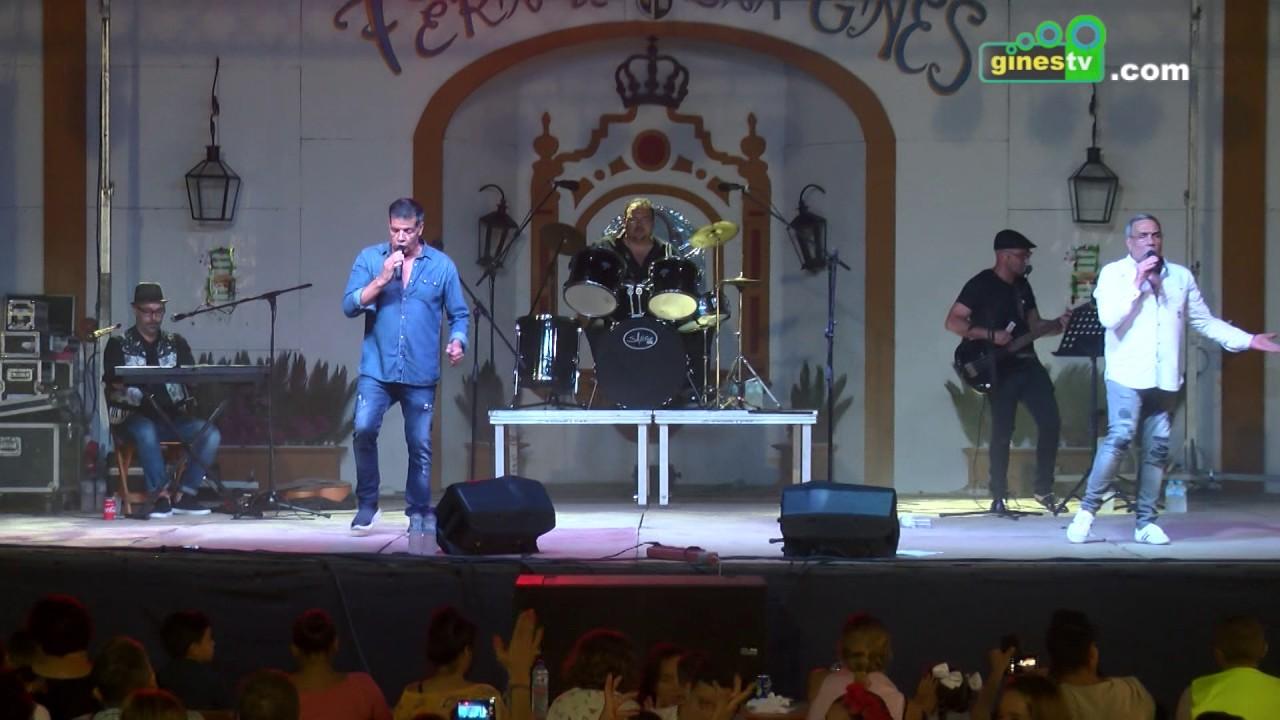 Concierto de Los Chunguitos en la Feria de Gines 2017