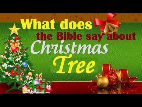 What does the Bible say about Christmas Tree? - What Does The Bible Say About Christmas Tree? - YouTube