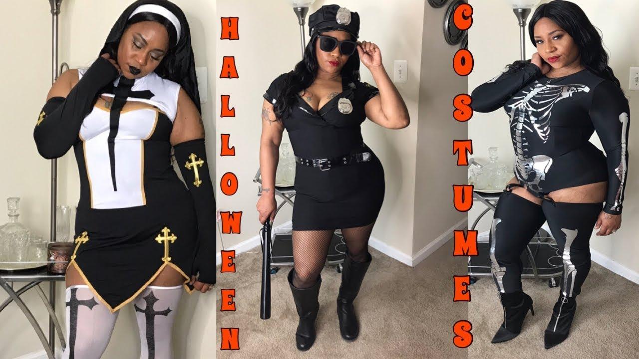 97d4eb55229 Costume Try On Haul f. Fashion Nova and Halloween Costumes  Curvy  Plus Size