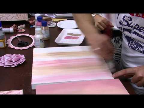 Mulher.com - 01/09/2015 - Caixa craquelada vintage 3d com pintura - Davi Jansen  PT1