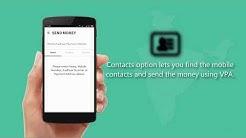 How to Send Money Using Account Number through BHIM App