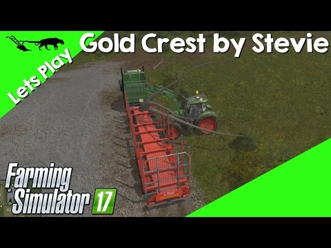 Let's Play Farming Simulator 17 Gold Crest By Stevie Episode 17