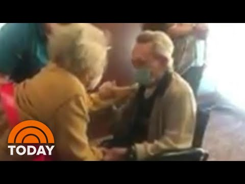 Couple Married 67 Years Reunited After Wife Beats Coronavirus | TODAY from YouTube · Duration:  1 minutes 17 seconds