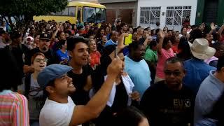 Caminhada para JESUS com os fiéis da igreja batista em Murupé.30/09/2017