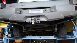 03 Chevy Avalanche 5.3L V8 with Magnaflow 1 In / 2 Out High Performance Muffler