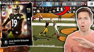 JUJU SMITH-SCHUSTER TOUCHDOWN WITH NO TIME LEFT! HES UNSTOPPABLE! Madden 19 Ultimate Team
