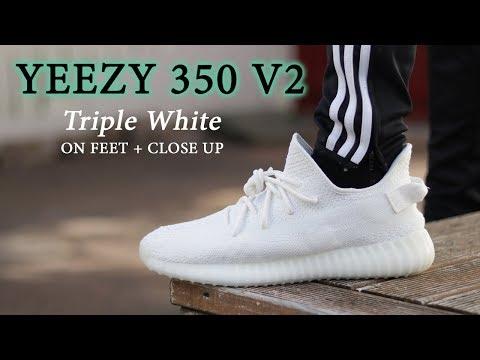 YEEZY 350 V2 CREAM (Triple White) | ON