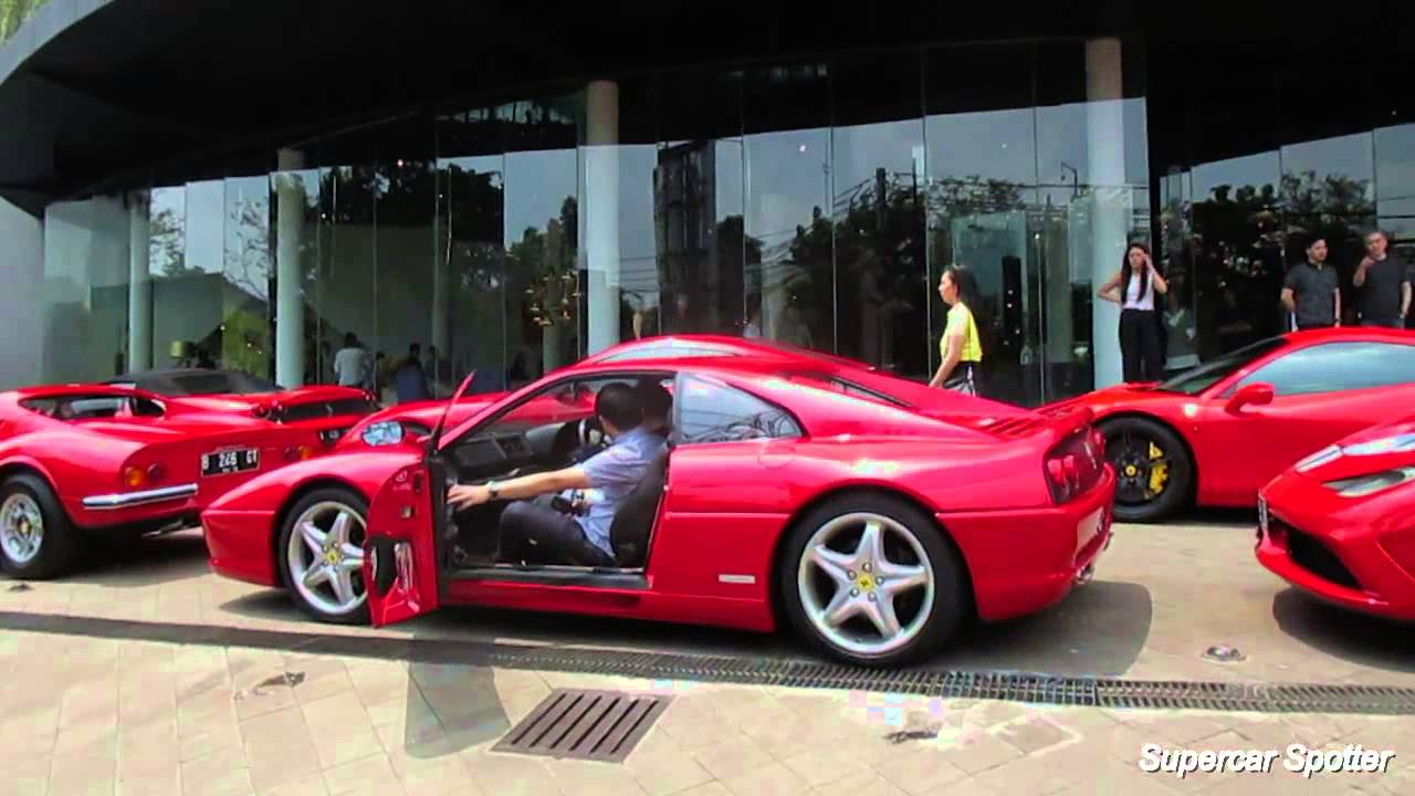 Ferrari Owners Club Indonesia Foci Gathering Acceleration