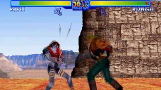 #589 Battle Arena Toshinden URA (SAT) Exclusive Bosses (2/2): Repli playthrough.