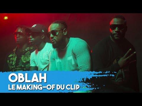 Gradur, MHD, Alonzo et Nyda dans les coulisses du clip  « Oblah »