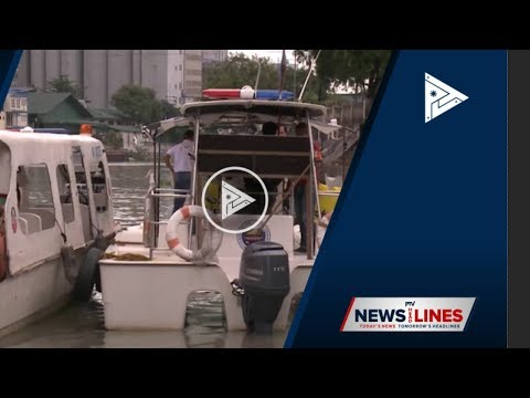 Pasig River ferry system rehab pushed