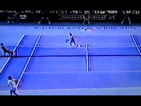 1986 Virginia Slims Champ Mandlikova d. Evert p2