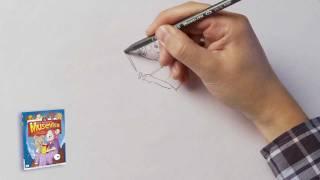 Vi tegner bestemor fra Musevisa