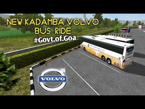Download Govt Volvo Bus Of Goa In Mobile(Mod)|Kadamba Volvo Bus Mod For Bus Simulator Indonesia|