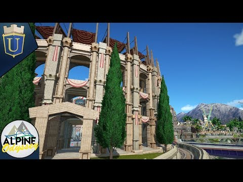 Planet Coaster | ALpine Odyssey | Stone Mason Uthris | Part Count Guess Today