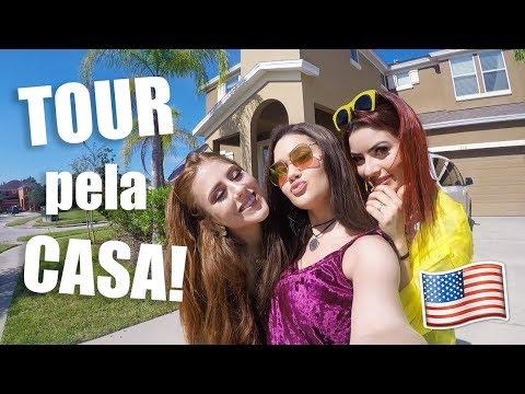 TOUR PELA NOSSA CASA EM ORLANDO!