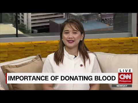 Importance of donating blood