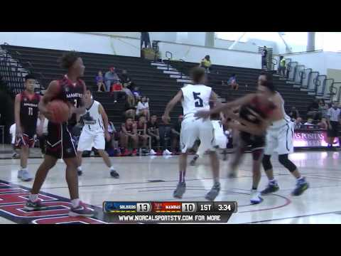 Oakland Soldiers 15u vs Bay Area Mambas 15u Boys Basketball FULL GAME LIVE 8/5/17