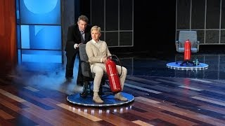 Steve Spangler Makes Ellen Float