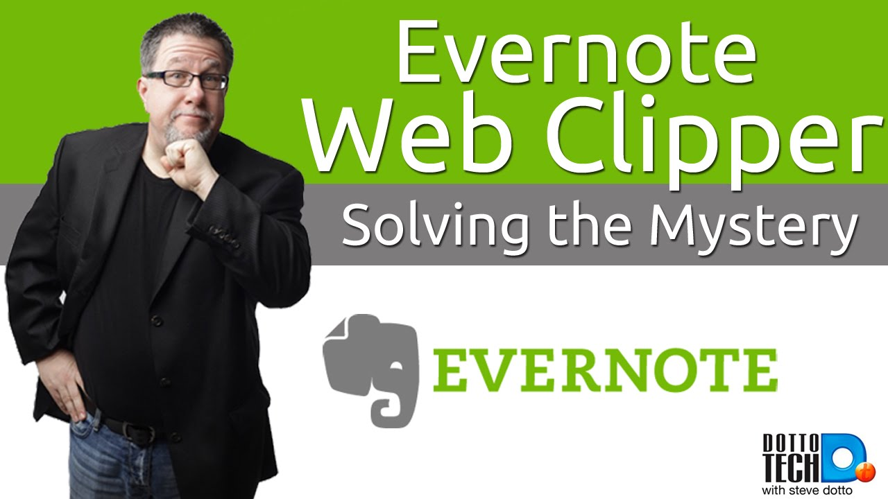 The Mystery of the Evernote Web Clipper