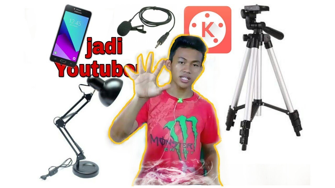 Peralatan Youtubers Pemula Low Budget Youtube