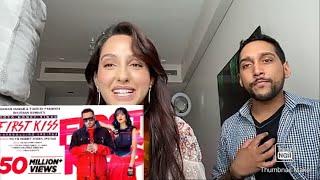 Gambar cover Nora Fatehi - Reaction To First Kiss Song | Yo Yo Honey Singh - Ipsitaa