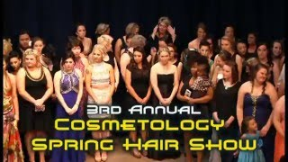 SCC 2016 Cosmetology Spring Hair Show