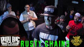 Body Bag Battles | RUSTY CHAINS V KEYZ Hosted by Aspect One | RAP BATTLE