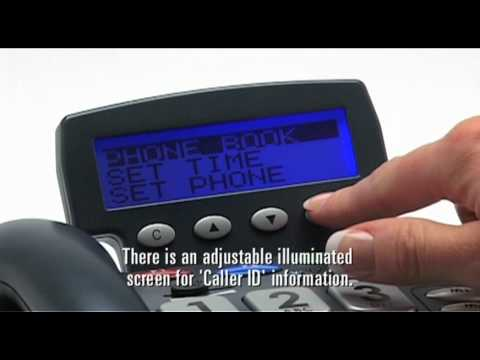 Multifunction Amplified Telephone: CL400