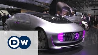 Самые футуристические концепт-кары Opel и Mercedes на автосалоне в Женеве