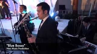 Saxophone, Keyboard, and Bass - Wedding Jazz Band Hong Kong - Neo Music Production