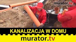 Montaż instalacji kanalizacyjnej. Co trzeba wiedzieć?