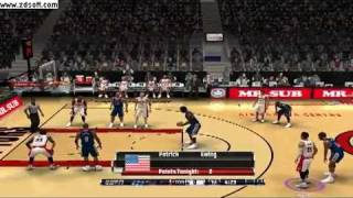 NBA Live 08 PC Gameplay (w/ Latest 2011 Patch)