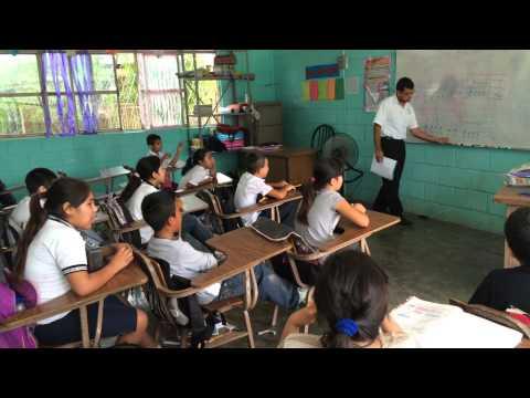 Clase de Música (4 grado Esc. Primaria Lázaro Cárdenas)