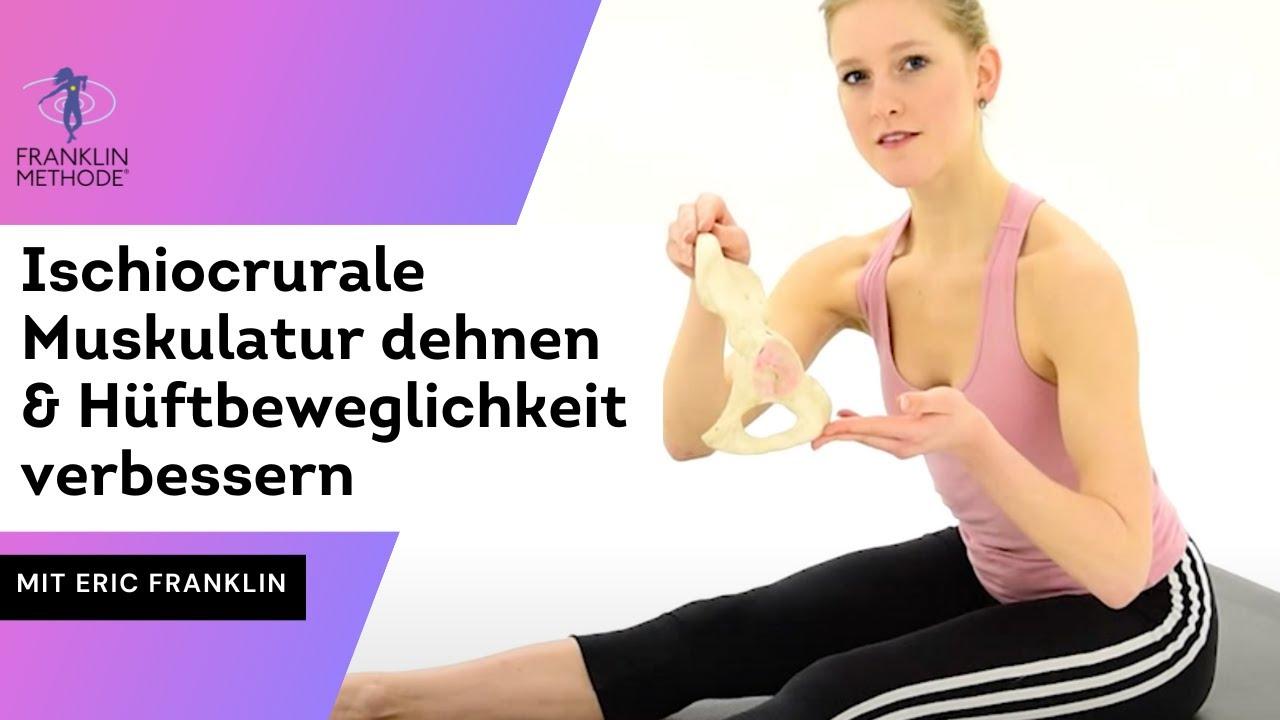 Die Ischiocrurale Muskulatur dehnen & Beweglichkeit der Hüfte ...