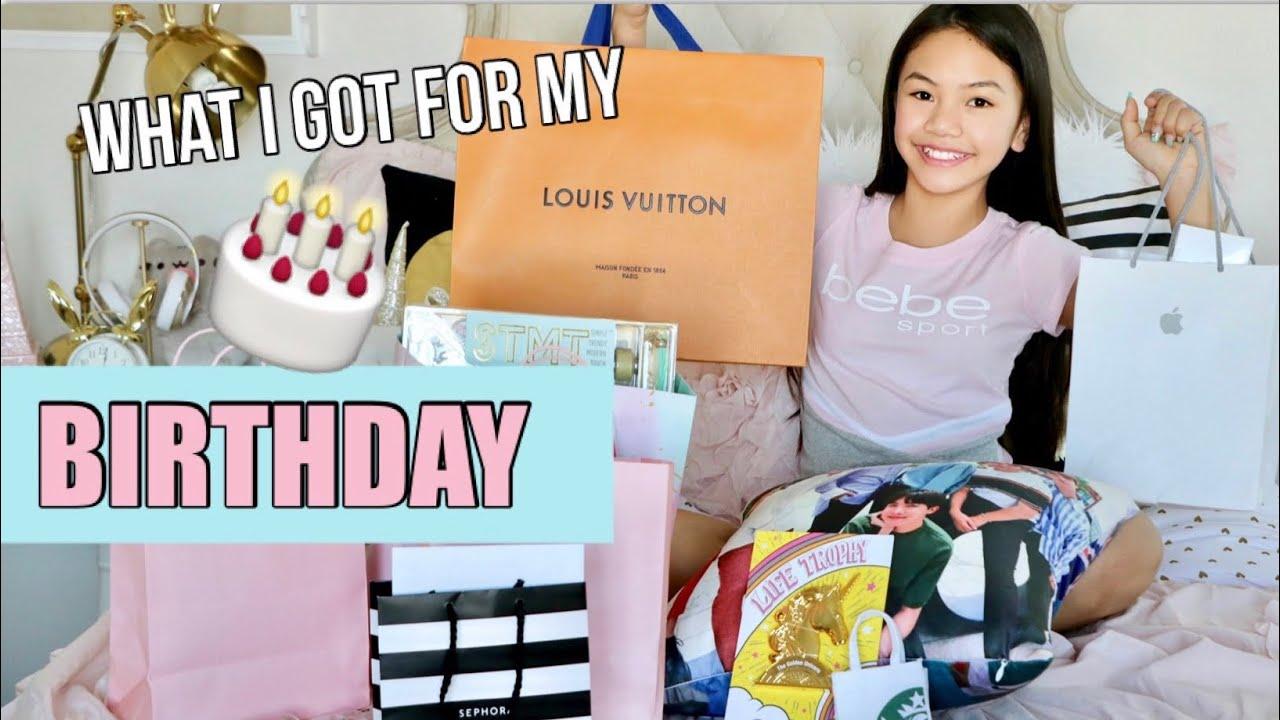 What I Got For My Birthday Bday Party Vlog Youtube