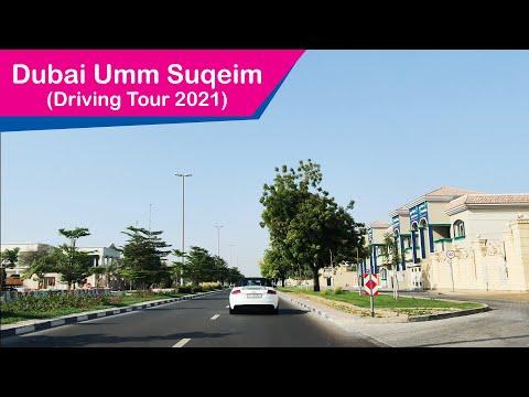 Dubai Umm Suqeim Road Driving Tour – Al Wasel Road – Jumeirah Road | UAE 4K